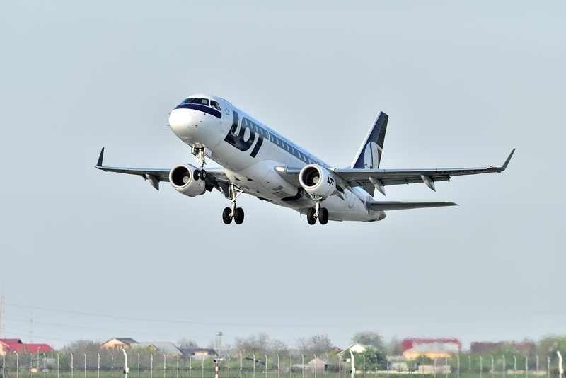 Budapest Airport is a hub for LOT Polish Airlines.