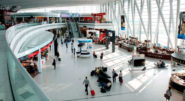 The airport is located 16 kilometres southeast of Budapest.